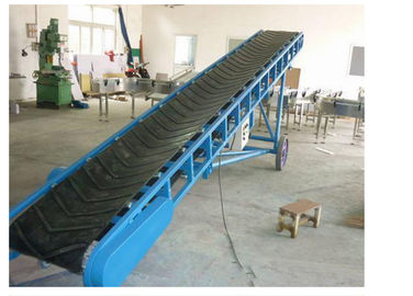 China Climbing Shipping Roller Conveyor Carbon Steel Material 0.4kW - 22kW Power supplier