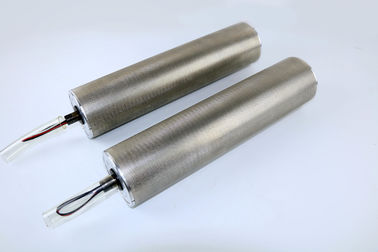China AC / DC Drum Motor Electric Conveyor Rollers With Silver / Grey Color supplier