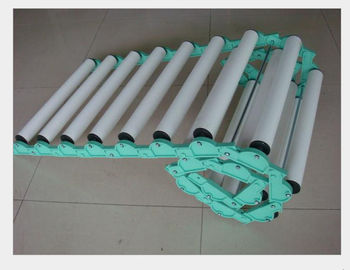 China Coated Industrial Rubber Rollers , Small Diameter Pvc Conveyor Rollers OEM supplier