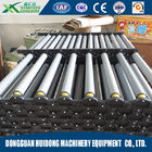 Good Quality Shipping Roller Conveyor & Rubber Covered Industrial Rubber Rollers For Transportation Material on sale