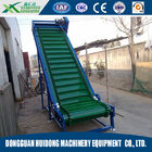 Good Quality Shipping Roller Conveyor & Skirt Baffle Transmission Conveyor Belt Equipment Customized Belt Width on sale
