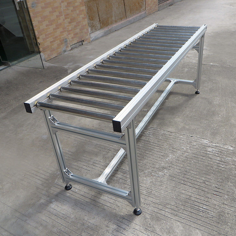 Stainless Steel Adjustable Line Shaft Conveyor Fire Resistant Customized Size supplier