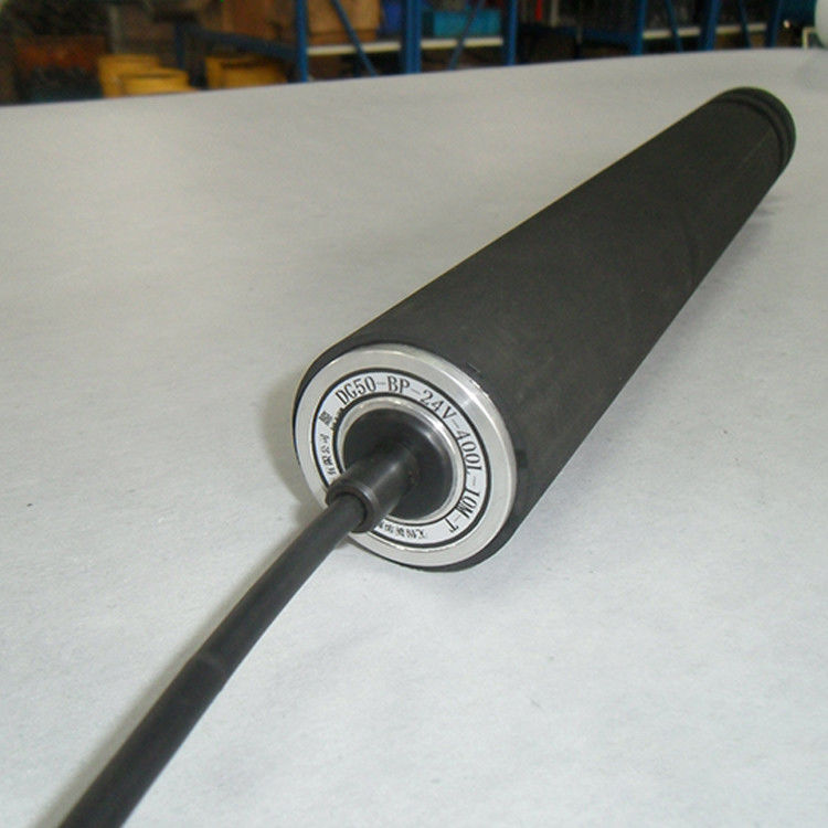 Rubber Covered Motorized Conveyor Rollers Small Size 0.4kW - 22kW Power supplier
