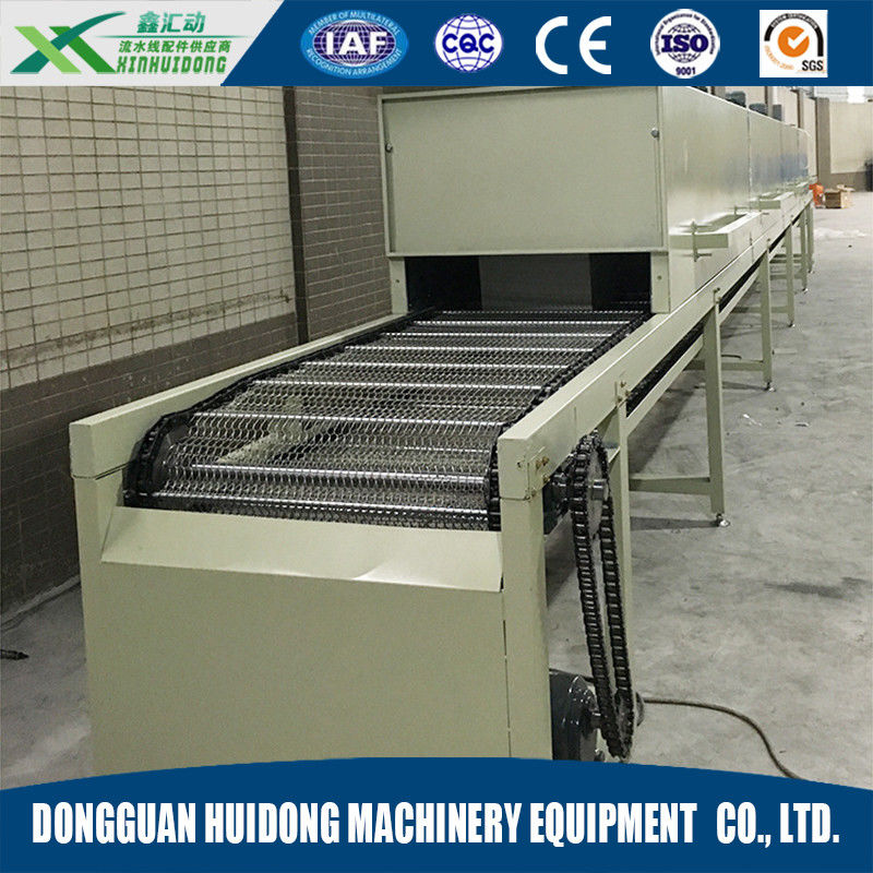 Stainless Steel Lineshaft Roller Conveyor For Industrial Drying Machine supplier