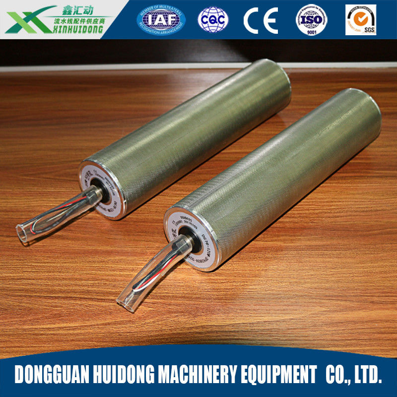 Electric Warehouse Conveyor Rollers , Stainless Steel Metal Conveyor Rollers supplier