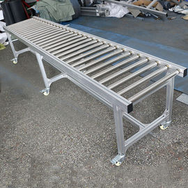 Stainless Powered Driven Roller Conveyor , Heavy Duty Roller Conveyor Systems