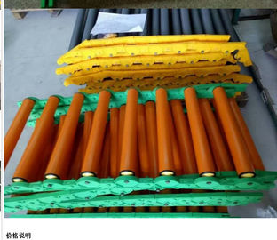 No Power Pvc Adjustable Roller Conveyor Customized Size For Transport Goods