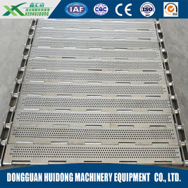 China Chain Plate Shipping Roller Conveyor With Stainless Steel Mesh Belt factory