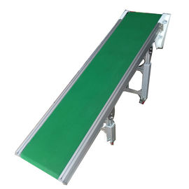 Food Grade Assembly Line Roller Conveyors 0.4kW - 22kW Customized Belt Width