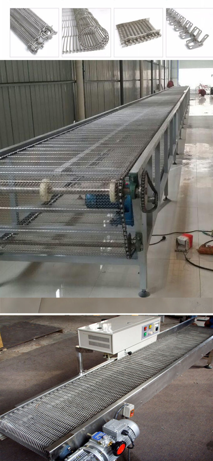 Stainless Steel Shipping Roller Conveyor Conveyor For Food Making Machine